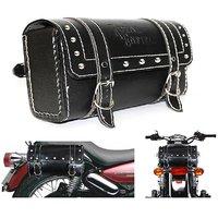 MP Saddle Bag For RE Bikes in -Black Color