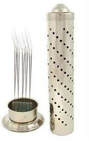 Kudos Stainless Steel Agarbatti Stand Holder (Steel Regular)