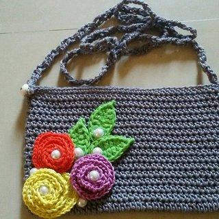 Crochet Handmade Handbag