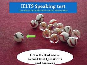 IELTS SPEAKING TEST dvd guide