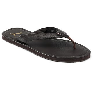 a65376ad9a56 Buy Puma Ketava DP Mens Brown Slippers Online   ₹1299 from ShopClues