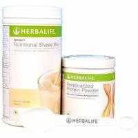 Herbalife Combo- F1 Vanilla Shake (500 gm) and F3 Protein Powder Scoops (200 gm)