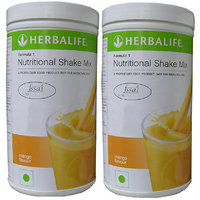 Herbalife Formula 1 Nutritional Shake Mix, 0.5 kg Mango (Pack of 2)