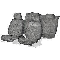 Hi Art Grey Towel Car Seat Cover set for Honda Accord