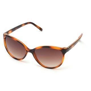 MTV Brown UV Protection Cat-eye Women Sunglasses