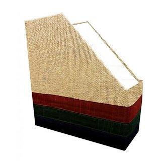 Indha Unisex Magzine holder jute triangle