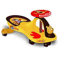Toyzone Winnie The Pooh Deluxe Magic Car, Yellow