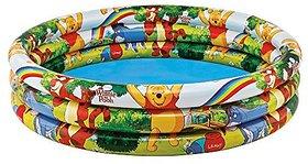 Disney Winnie The Pooh Three Ring Pool, Multi Color