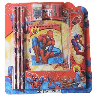 6th Dimensions Spider man Stationery Set