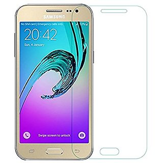 SAMSUNG GALAXY  J2 TEMEPERED GLASS + CLEANING CLOTH + ALCOHOL  PAD