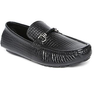 San Frissco MenS Black Casual Shoes