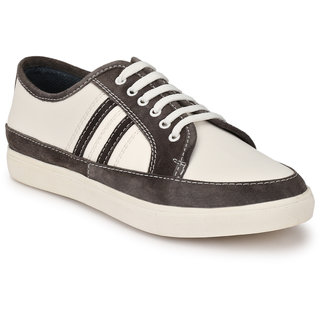 Buy San Frissco Men's White Casual Shoes Online at Best Price in India