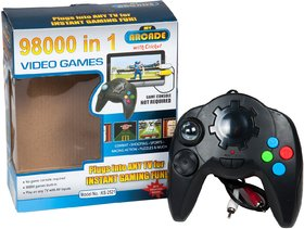 98000 in 1 Built-in Video Game (Play On Any TV With AV Inputs)