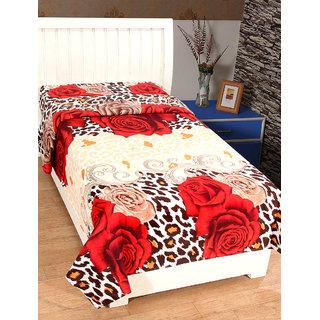 Trendz Home Furnishing 3D Print Bedsheet