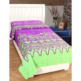Trendz Home Furnishing 3D Print Bedsheet