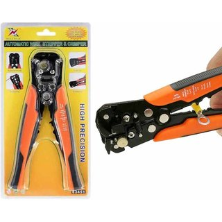 Automatic Mini Wire Stripper Cutter Crimping Plier Multifunctional