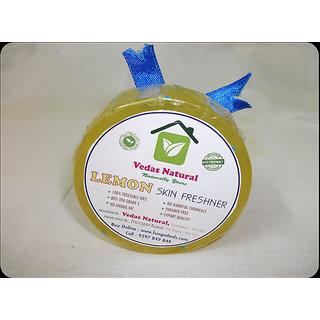 VEDAS NATURAL Premium Lemon Hand Made Natural Soap