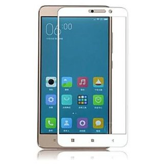 Oppo F1s White 9H Curved Edge HD Tempered Glass