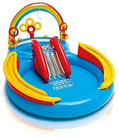 Intex Rainbow Ring Play Center, Multi Color