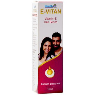 Zone Vitan Vitamin E Oil Hair Serum@YSZ