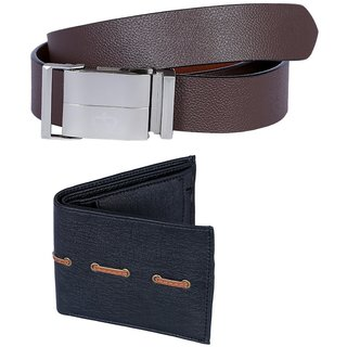 Hardys Multicolor Leatherite Belt For Men