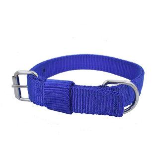 Fashion Box Blue Dog Collar and Leash (Collar and Leash width 1 inch)