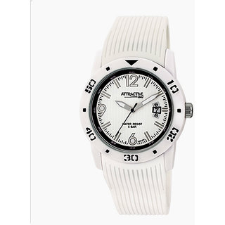 Q&Q Grant Analog Watch - For Men, Women (White) DA02J001Y