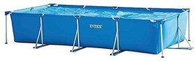 Intex Rectangular Frame Pool, Multi Color (4.5m X 2.2m