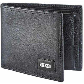 Home  Fantasy Black  Leather Wallet (05)