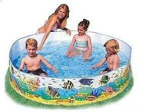 Intex Ocean Reef Snapset Pool, Multi Color (6 Feet X 15