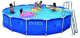 Intex Metal Frame Pool Set, Multi Color (15 Feet X 36 I