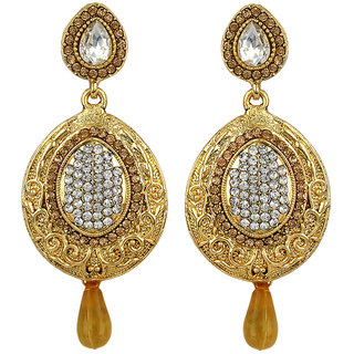 Angel In You  Exclusive Golden White  Earrings    H1061