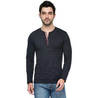 fc98a5e73e Buy Tsx Men s Blue Henley T-Shirt Online   ₹549 from ShopClues