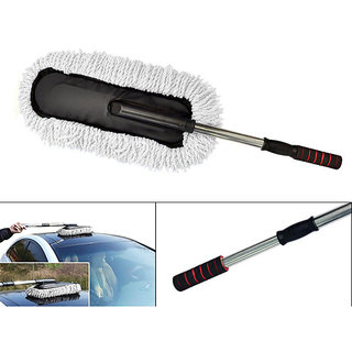 Takecare Microfiber Duster Washable For Dry / Wet Cleaning For Maruti Wagona R Stingray