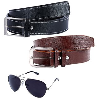 Hardys Multicolor Leatherite Belt For Men (Synthetic leather/Rexine)