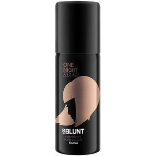 Zone One Night Stand Temporary Hair Colour, Bronze@YSZ