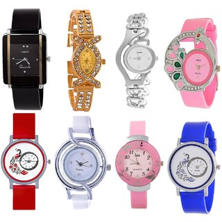 Latest Fancy Stylish Woman Watch Combo Offer