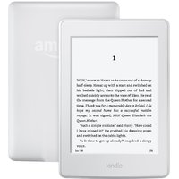 Kindle Paperwhite, 6 High Resolution Display (300 ppi) with Built-in Light, Wi-Fi - White