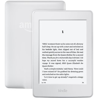 All-New Kindle E-reader - White, 6 Glare-Free Touchscreen Display, Wi-Fi