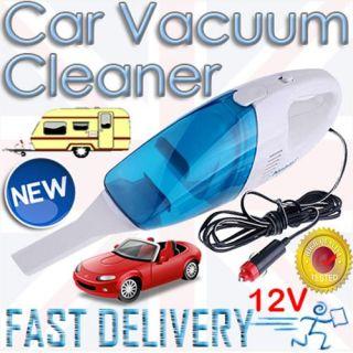 CAR VACUUM CLEANER HOOVER HOME WET  DRY VAN 12V PORTABLE