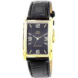 Q&Q Superior Series Analog Black Dial  Watch - R348-105Y