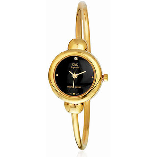 Q&Q Superior Series Analog Black Dial  Watch - R361-002Y