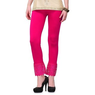 KriSo Length Pink Lace legging