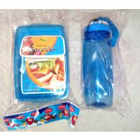 Set Of Kids Lunch Box & Water Bottle