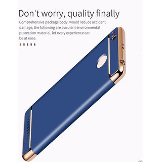 3-in-1 Blue SHOCKPROOF Dual Layer Back Cover Case For 3s/3s Prime