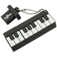 Microware Designer Mini Piano Shape 16GB Pen Drive