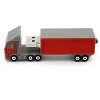 Microware Truck Red Shape 16 Gb Pen Drive JKL342