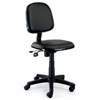 Computer Black Chair (Without arms)