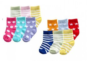 Combo of 6 Pair Baby Boy/Girl Soft Touch Rich Sock