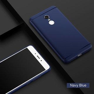 Redmi Note 3 Back Cover (Premium Soft Navy Blue Plain TPU Back Cover)